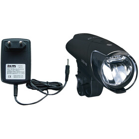 Busch + Müller IXON IQ Front Headlight med batterilader black